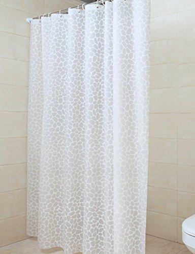 Fancy Duschvorhänge Wasserdichte Dusche Wasserdichte Duschvorhang Badezimmer Vorhänge Toilette Vorhänge Opaque Vorhang Teal Duschvorhang ( größe : 200*200CM ) (Duschvorhänge Teal Badezimmer)
