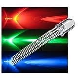 10 LEDs 5mm wasserklar RGB 4-polig steuerbar SET