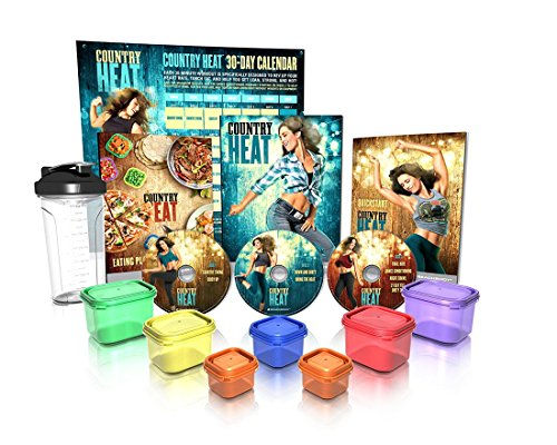 country-heat-base-kit-plus-portion-control-containers-and-shaker-cup-4-dvds-fitness-tools-and-nutrit