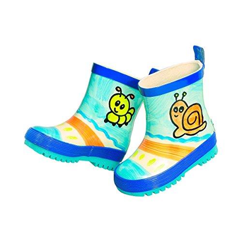 maximo , {Chaussures premiers pas pour bébé (garçon) bleu 28 EU bleu