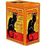 boite metal decorative 12x8x15 cm chat noir vente drouot