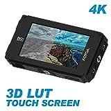 Fotga DP500IIIS A50TLS - Monitor da 5 pollici FHD con schermo touch screen, 3D LUT, 3G SDI e HDMI 4K, 1920 x 1080, 510 cd/m2, doppia batteria NP-F per fotocamera DSLR Mirrorless A7 A7R A7S III GH5s