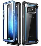 i-Blason Funda Galaxy Note 8 [Ares] 360 Grados Transparente Case Carcasa con...