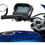 UltimateAddons Moto Libération rapide Guidon support et GPS étui pour TomTom GO via Start Série