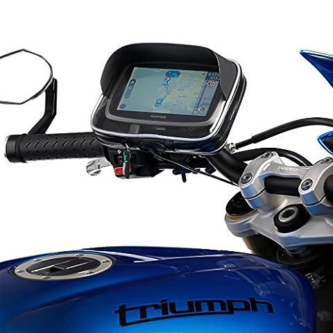 UltimateAddons Moto Guidon Sangle et fixation GPS étui pour Garmin Nuvi et lecteur Série