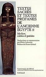 Textes sacrés et textes profanes de l'ancienne Egypte, tome 2