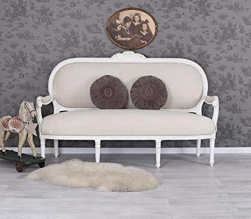 Gigantisches Rokoko Sofa, Diwan, Kanapee, Ottomane, Liege -'Madame Pompadour' - mit königlichem...