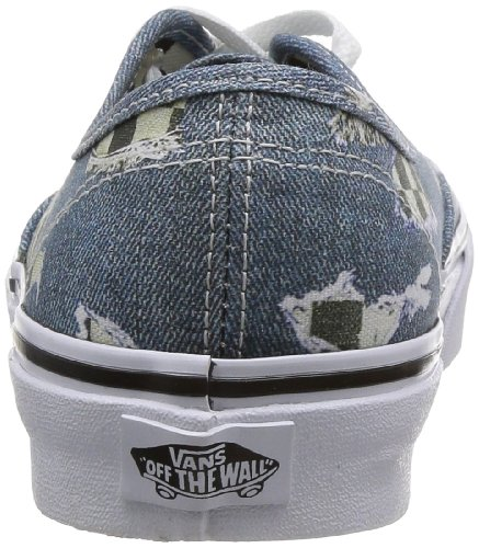 Vans U AUTHENTIC VVOEAWI Unisex-Erwachsene Sneaker Blau ((Denim/Checkere)