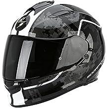Casco de moto SCORPION Exo 510 Negro/Blanco
