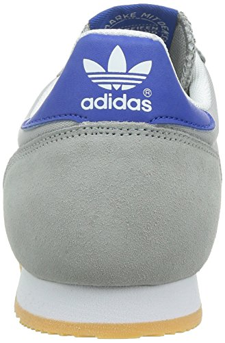 Adidas Originals Dragon, Sneakers Basses Adulte Mixte Gris (mgh Solid Grey/collegiate Royal/lgh Solid Grey)