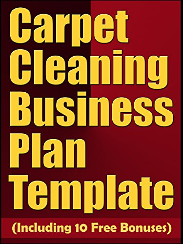 Carpet cleaning business plan template including 10 free bonuses carpet cleaning business plan template including 10 free bonuses by plan expert accmission Choice Image