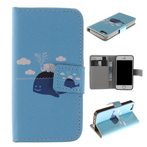 Nutbro [iPhone 5C] 5C Case,PU Leather iPhone 5C Case,iPhone 5C Phone Case,iPhone 5C Phone Cover Case PU Leather Case Wallet for iPhone 5C ZZ-5C-21