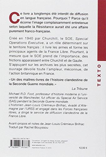 Des Anglais dans la Résistance : Le service secret britannique d'action (SOE) en France, 1940-1944 (Texto)