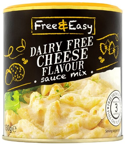 Free and Easy Cheese Flavour Sauce Mix 130 g (Pack of 6)