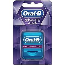 Oral-B 3DWhite Luxe - Seda dental, menta radiante, 35 metros