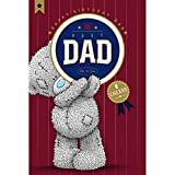 Me to You Tatty Teddy carta di carte Blanche – compleanno- Best Dad con da birra W505