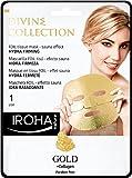 Iroha Divine Collection maschera Hydra Firming con 24K oro e collagene