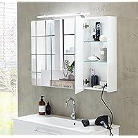 suchergebnis auf f r wei spiegelschr nke schr nke k che haushalt wohnen. Black Bedroom Furniture Sets. Home Design Ideas