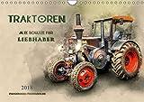 Traktoren - alte Schätze für Liebhaber (Wandkalender 2018 DIN A4 quer): Nostalgische Traktoren - geliebte Kraftpakete, die viele in ihren Bann ziehen ... [Kalender] [Jan 25, 2017] Roder, Peter