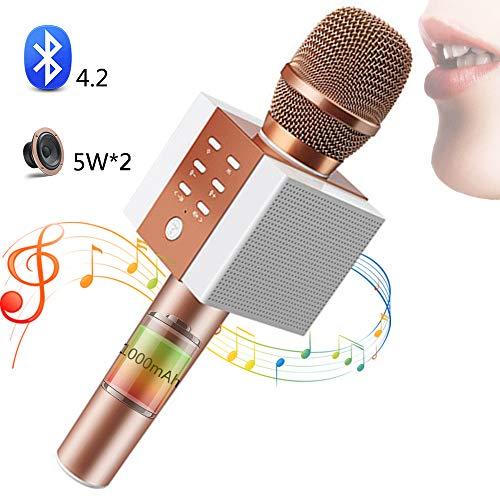SHENGY Micrófono inalámbrico para niños