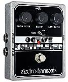 Electro Harmonix Octave Multiplexer Pedale per Chittara Elettrica, Argento