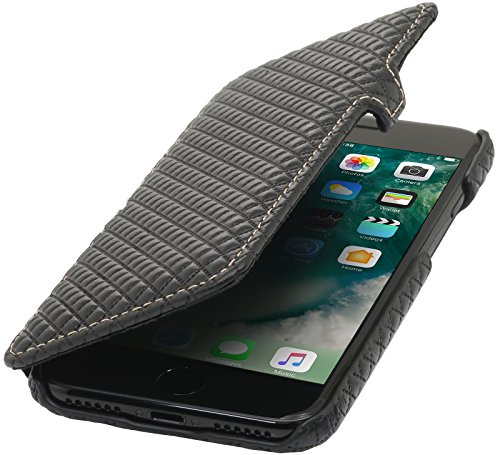 stilgut-book-type-with-closure-genuine-leather-cover-for-iphone-7-47-karo-smooth