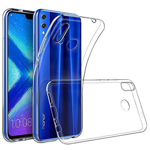 GeeRic Funda de Silicona para Huawei Honor 8X