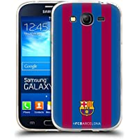 Official FC Barcelona Stripes 2017/18 Crest Soft Gel Case for Samsung Galaxy Grand Neo