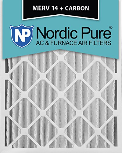 x 4M14+ C Merv 14plus Carbon AC Ofen Air Filter, qty-2 (14 X 18 Ofen-filter)