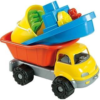 Androni Giocattoli S.R.L. 36 cm Beach Set in Dump Truck