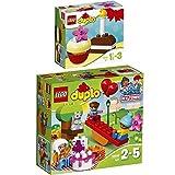 LEGO Duplo 2er Set 10832 10850 Geburtstagspicknick + Mein erster Geburtstagskuchen