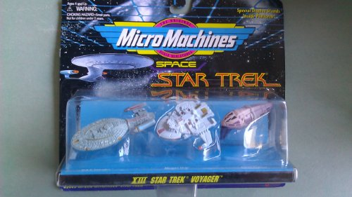 Star Trek - Voyager -MicroMaschines - U.S.S. Voyager -Maquis Ship - Kazon Fighter - Collection # XIII