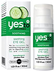 Yes To Cucumbers Gel pour les Yeux Calmant 30 ml