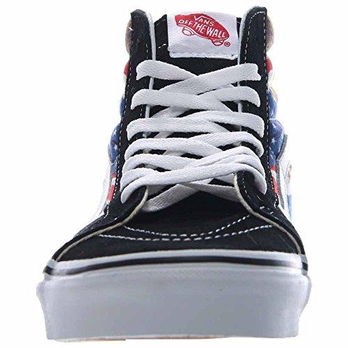 VANS Sk8-Hi Reissure Special Edition Free Bird USA Sneaker V3CAIE5 Nero