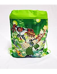 Set Of 2 Latest Design Ben 10 Cartoon Non-Woven Fabric Drawstring Bags Backpack Baby Shower Happy Birthday Party...