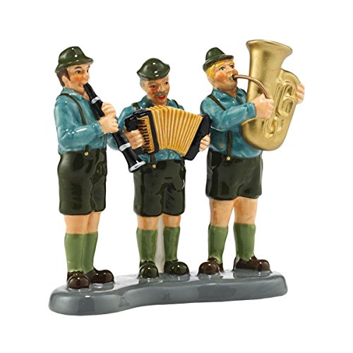 Department 56 Original Snow Village Black Forest Oompah Band Accessory, 3.43