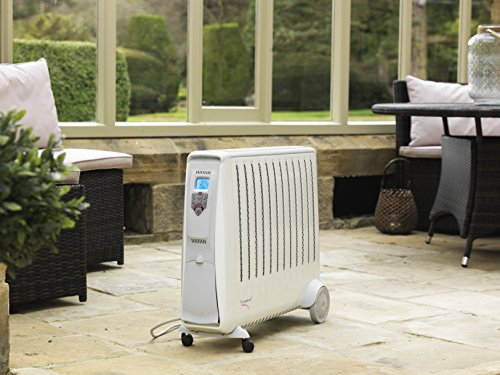 The Dimplex Cadiz Eco 3 KW Electric Radiator with Electronic Climate Control is no small unit. The unit supplies 3kw of power for maximum performance and heat output. The unit is able to supply small to medium sized conservatories with the required amount of heat.
