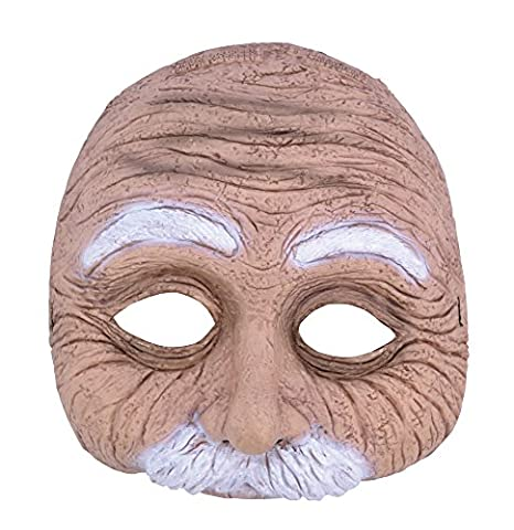 Old Man Half Mask with
