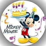 Premium Esspapier Tortenaufleger Party Geburtstag Micky Maus T69
