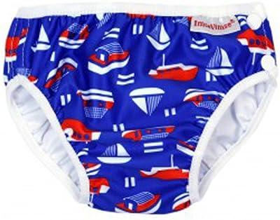 ImseVimse, bañador para, diseño, Aqua para pañales, diseño de niños de Blue Sailor SL (muy grande) 13-17 kg