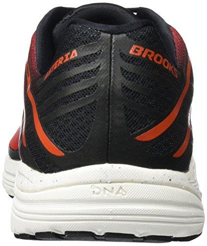 Brooks Asteria, Scarpe da Corsa Uomo Rosso (Toreador/CherryTomato/Black 1D615)