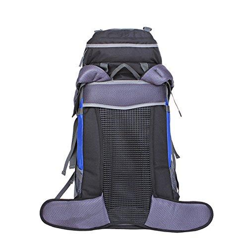 Un nuovo giorno di arrampicata borsa spalla-coppia all'aperto alpinismo borsa sospensione sistema capacity45L 31 * 65 * 21 , deep blue deep blue