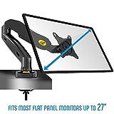 NB F80 - Support design professionnel pour écrans PC LCD LED 43-69 cm / 17-27. Réglage dans plusieurs axes, pivot,...