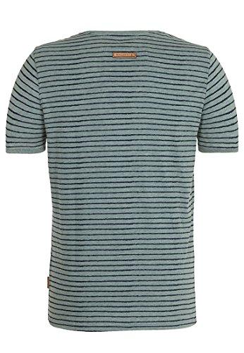 Naketano Male T-Shirt Dieser Schwanz III Heritage Forrest Melange