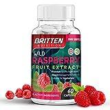 Wild Raspberry Ketones Wild HimbeerKetone 60 Kapseln (1 Monat Versorgung) von Britten Nutrition