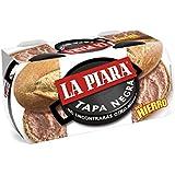 La Piara Tapa Negra - Paté de higaro de cerdo, 115 g (pack con 2 unidades: total 230 gr.)