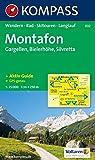 Alpenpark Montafon: 1:25.000. Gargellen, Bielerhöhe, Silvretta. Wandern / Rad / Skitouren / Langlauf. GPS-genau