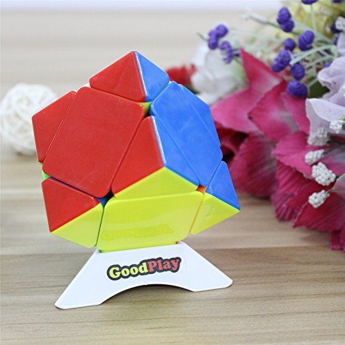 GoodPlay QIYI mofangge MFG Skewb Speed Cube Puzzle stickerless One Customized tripod
