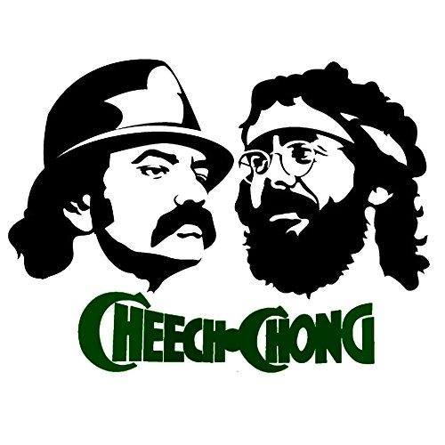 Classic Stoner Hippie-Film Weed Raucher–Für fast alle Oberflächen–einfach anzubringen Wand Vinyl Aufkleber Spaß und Cool für DIY und Dekorationen macht ein tolles Geburtstag Geschenk. Laptop–MacBook