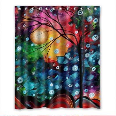 Dalliy Brauch Abstract Tree Wasserdicht Polyester Shower Curtain Duschvorhang 152cm x 183cm